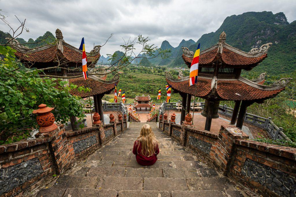 Ban Gioc temple