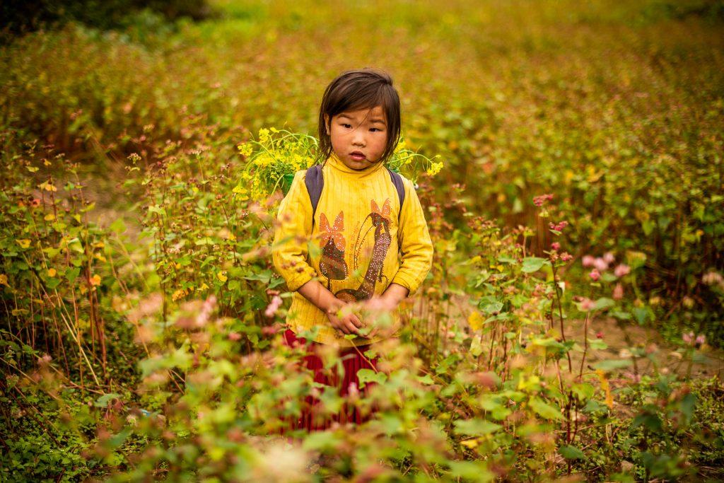 Vietnamese kid
